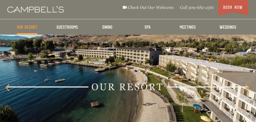 Campbell's Resort ~ At The Foot Of Lake Chelan